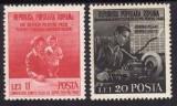Romania 1950 - Lupta pt.pace,serie completa,neuzata