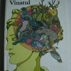 VANATUL - VASILE COTTA, CARTEA ESTE CA NOUA . - Carte Biologie