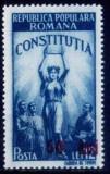 Romania 1952 - Constitutia-supratipar,serie completa,neuzata