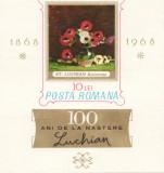 COLITA ROMANIA 100 ANI DE LA NASTEREA PICTORULUI STEFAN LUCHIAN 1968