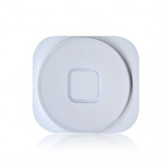 Buton meniu Apple iPhone 5 White Original - Tastatura telefon mobil