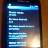 Samsung Galaxy Fit S5670 Android smartphone - Telefon mobil Samsung Galaxy Fit, Negru, Neblocat