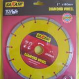 FLEX DISC diamantat pentru taiat piatra 180 mm diametru, marmura, bazalt, granit, asfalt - Masina de taiat