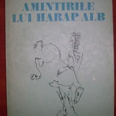 Iulian Neacsu - Amintirile lui Harap Alb - Roman, Anul publicarii: 1983