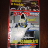REVISTA AUTOMOTO  ;  AUTO SPORT MAGAZIN