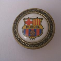 REDUCERE 55%! NASTURE ORIGINAL F.C.BARCELONA - Insigna fotbal