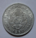 20 lei 1951 luciu de batere +