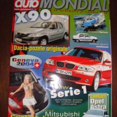 REVISTA AUTO MOTO ; AUTO MONDIAL