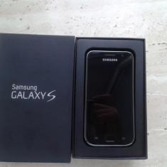 Samsung Galaxy S i9000 8GB - Telefon mobil Samsung Galaxy S, Negru, Neblocat