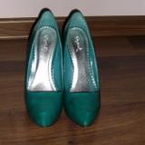 Pantofi Dama - Pantof dama, Marime: 37.5, Turcoaz