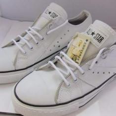 TENESI Converse albi -ALL STAR- design fermoar ! - Tenisi barbati Converse, Marime: 40, 42
