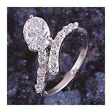 Inel filat cu aur alb 9k (gold filled ultima tehnologie mai tare decat placat nu oxideaza) marime 7, pietre zirconiu nou ideal cadou Valentine