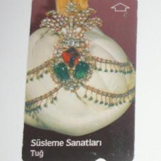 Cartela - Arta - Istorie - Turban - Turcia - 2+1 gratis toate licitatiile - CHA132 - Cartela telefonica straina