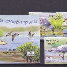 Fauna, pasari de apa, Vietnam. - Timbre straine