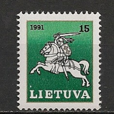 Lituania.1991 Calaretul lituanian SL.63 - Timbre straine