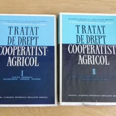 S BRADEANU, P MARICA, L STANGU - TRATAT DE DREPT COOPERATIST-AGRICOL VOL 1-2, EDITURA ACADEMIEI - Carte Legislatie