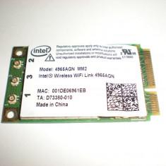 placa de retea wireless intel AGN acer aspire 6920G transport gratuit