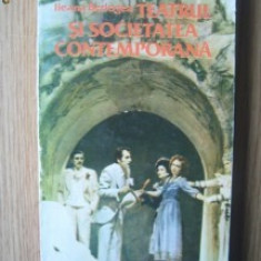 TEATRUL SI SOCIETATEA CONTEMPORANA DE ILEANA BERLOGEA, EXPERIENTE DRAMATICE SI SCENICE ALE ANILOR 60 - 80, EDITURA MERIDIANE 1985, 339 PAG+ILUSTRATII