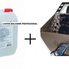 PROMO! MASINA PROFESIONALA BALOANE SAPUN + BIDON LICHID BALOANE. BALOANE SAPUN .