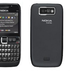 NOKIA E63 - Telefon Nokia, Negru, Orange
