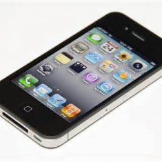 Vand iPhone 4 Apple, 16 Gb, negru, Orange