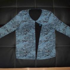 Bluza de gala; marime 46: 59 cm bust, 57 cm lungime; vascoza; impecabila ca noua - Bluza dama, Culoare: Din imagine, Maneca lunga