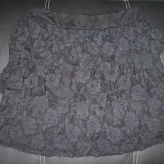 Fusta eleganta Okay; marime 42: 72 - 98 cm talie elastica, 43 cm lungime;ca noua, Culoare: Din imagine