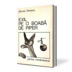 Mircea Dinescu-Exil pe-o boaba de piper - Carte poezie Altele
