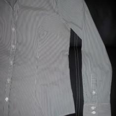 Camasa de gala superba H&M Slim Fit; 50 cm bust, 65 cm lungime, 64 cm maneca - Camasa dama H&M, Marime: Alta, Culoare: Din imagine, Maneca lunga, Casual, Bumbac