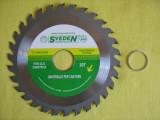 DISKC cu vidia pentru lemn diametru 125   MOTOCOASA disk de taiat , MOTOCOSITOARE