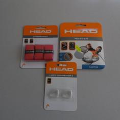 SET TENIS HEAD COMPUS DIN OVERGRIP+RACORDAJ+VIBRASTOP - Grip tenis