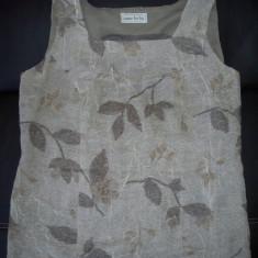 Bluza de gala de la Anne Belin; 53.5 cm bust, 68 cm lungime;impecabila, ca noua - Bluza dama, Marime: Alta, Culoare: Din imagine, Fara maneca, Bumbac