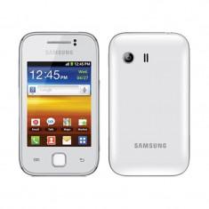 Vand samsung galaxy y - Telefon mobil Samsung Galaxy Y, Alb, Neblocat
