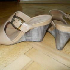 Sandale noi - Sandale dama Benvenuti, Culoare: Bej, Marime: 37, Bej
