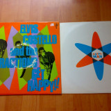 ELVIS COSTELLO and the Attractions - get happy ( 1980, Riviera Global Record, Made in UK) vinil vinyl