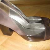 Pantofi de zi - Pantof dama, Culoare: Maro, Marime: 37, Maro