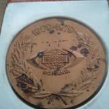 Medalie Icecoop import export Romania 1969-1979 108 grame + cutia de mprezentare gratuita + taxele postale gratis = 100 roni - Medalii Romania