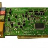 Creative Labs CT4810 PCI Sound Card = placa de sunet stereo