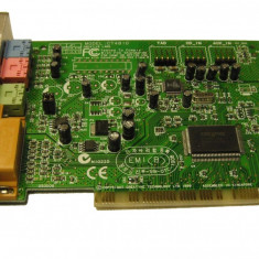 Creative Labs CT4810 PCI Sound Card = placa de sunet stereo - Placa de sunet PC