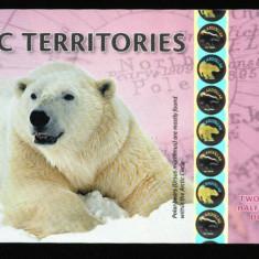 TERITORIILE ARCTICE ( ARCTIC TERRITORIES ) 2, 5 DOLLARS 2013 SPECIMEN UNC