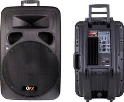 BOXA PROFESIONALA,AMPLIFICATA/ACTIVA+MIXER INCLUS,MP3 PLAYER STICK USB SI CARD,AFISAJ LCD. foto