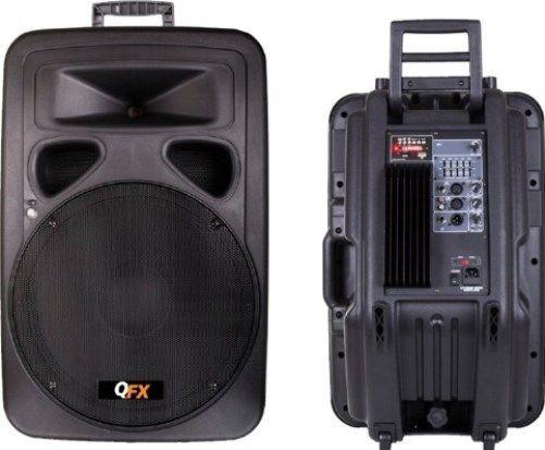 BOXA PROFESIONALA,AMPLIFICATA/ACTIVA+MIXER INCLUS,MP3 PLAYER STICK USB SI CARD,AFISAJ LCD.