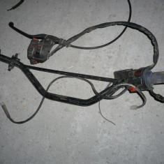 Vand bloc comanda electrice ghidon impreuna cu manete frana si ambreiaj cagiva supercity 125 - Comanda frana Moto