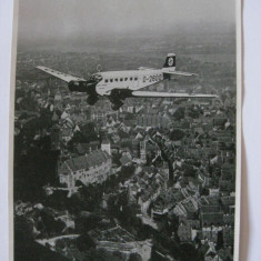 REDUCERE 10 LEI! FOTOGRAFIE COLECTIE AVION NAZIST DIN ANII 30 - Fotografie veche