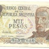 ARGENTINA BANCNOTA 1000 PESOS