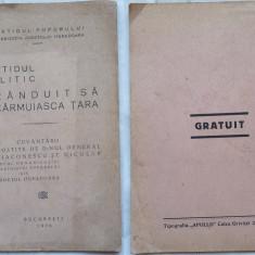 Partidul Poporului ,  Hunedoara , Partidul politic randuit sa carmuiasca , 1936