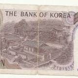 KOREEA BANCNOTA 1000 WON