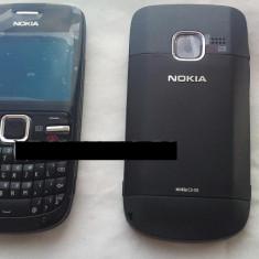 Vand Carcasa Nokia C3 Noua Completa Neagra Negru Black