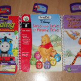 Lot carti interactive in engleza pt Leappad Leapfrog Learning System