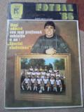 Revista Fotbal 1986 RSR F.C. Sportul Studentesc + foto poza vedere gheorghe hagi